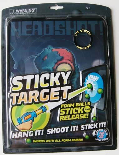 Hog Wild Sticky Targets Zombie Nation - 1