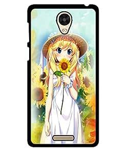 Fuson 2D Printed Girly Designer back case cover for Xiaomi Redmi Note 2 Pro - D4623
