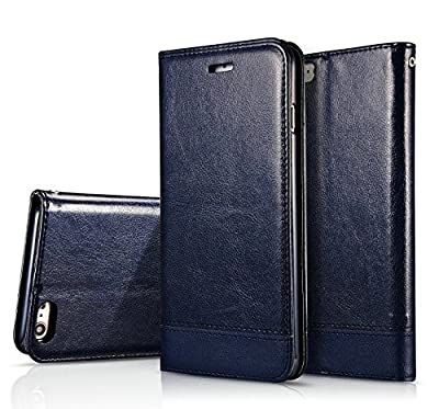 "FS 0413 Phone Case, iPhone 6, iPhone 6S (4.7"") Case, PU Leather Case with a lanyard, Wallet Case Series, Premium Protective, Flip Book Design with Stand Feature and Credit Card Compartments, Magnetic Closure from FS 0413 Phone Case"