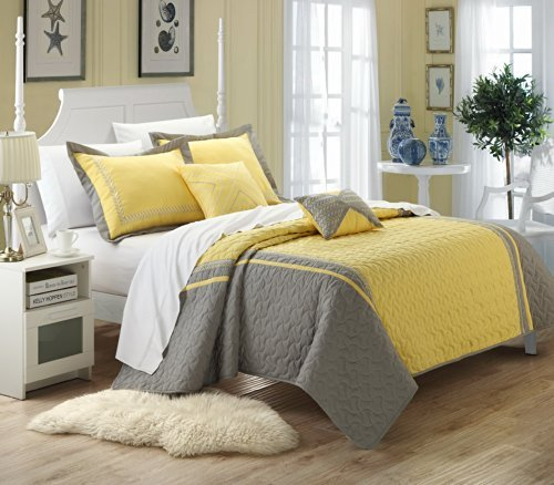 Yellow Comforter Set