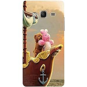 Casotec Funny Titanic Design 3D Printed Hard Back Case Cover for Samsung Z3