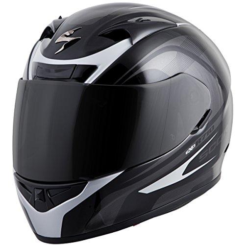Scorpion EXO-R710 Focus Street Motorcycle Helmet (Silver, X-Large)