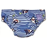 Bambino Mio Swim Nappy Blue Shark Small 5-7kgs
