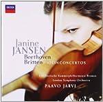 Beethoven et Britten : Concertos pour...