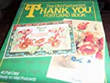 The Old-Fashioned Thank You Postcard Book