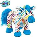 Webkinz Rainbow Zebra