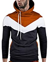 MT Styles Kapuzenpullover Colour-Block Hoodie Pullover S-151