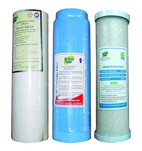 5265ccf39 Replacement Filter Cartridges for Undersink RO Water Purifier