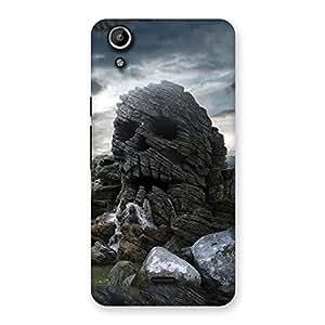Skull Rock Back Case Cover for Micromax Canvas Selfie Lens Q345