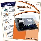 mumbi Displayschutzfolie Archos 80 G9 Turbo Schutzfolie AntiReflex antireflektierend