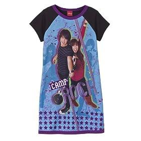 Girls' Camp Rock Pajamas - Rockin' Romance Purple