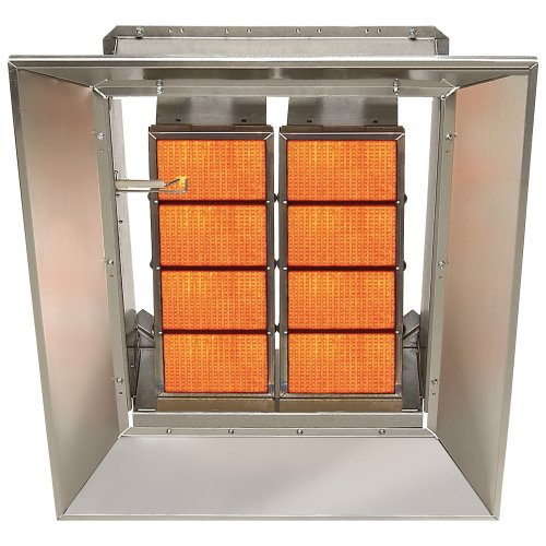 SunStar Heating Products Infrared Ceramic Heater - NG, 80,000 BTU, Model# SG8-N (Infrared Ceramic Heater Gas compare prices)