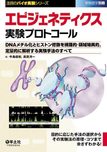 エピジェネティクス実験プロトコール―DNAメチル化とヒストン修飾を網羅的・領域特異的、定量的に解析する実験手法のすべ