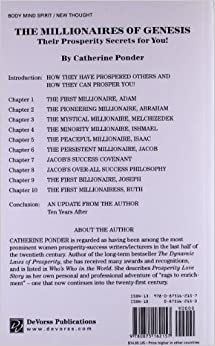 the millionaires of the bible series by catherine ponder pdf