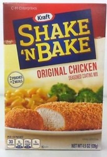 Shake 'N Bake Seasoned Coating Mix, Original Chicken, 4.5-Ounce Boxes (Pack of 12) (Shake And Bake Original Chicken compare prices)