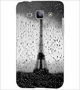 PrintDhaba Tower D-3446 Back Case Cover for SAMSUNG GALAXY J1 (Multi-Coloured)
