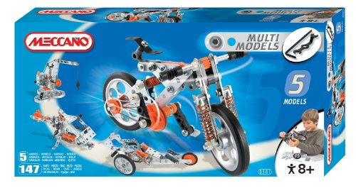 Erector Multi Model Building Set - 5 Different Model to Build with One Set