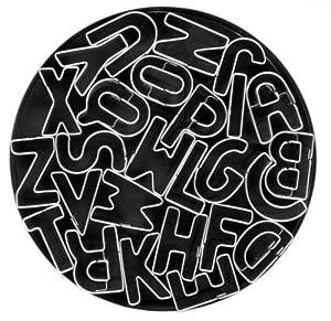 niceeshop(TM) 26,Piece Fondant Alphabet Cut Outs Cookie Cutters Set