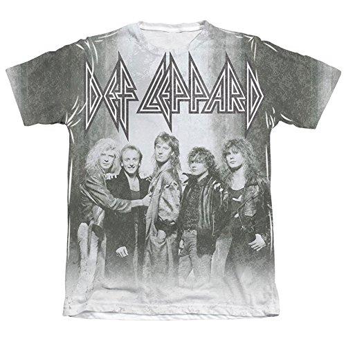 Kumiu Def Leppard - Men's T-shirt Band Portrait