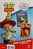 Disney Pixar Toy Story 3 War and Go Fish Card Games- 2 Games in One Deck Featuring Buzz Lightyear, Woody and Friends