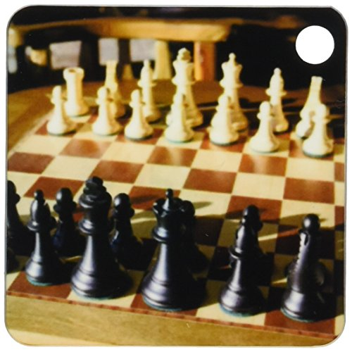 3dRose Argentina, El Calafate, Chess board, game - SA01 MME0236 - Michele Molinari - Key Chains, 2.25 x 4.5 inches, set of 2 (kc_85390_1)