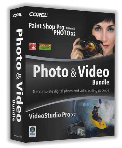 Corel Paint Shop Pro Photo X2 Ultimate & VideoStudio Pro X2 Bundle [OLD VERSION] (Corel Video Studio Ultimate compare prices)