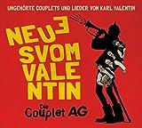 Die Couplet-AG �Neues vom Valentin - Ungeh�rte Lieder und Couplets� bestellen bei Amazon.de