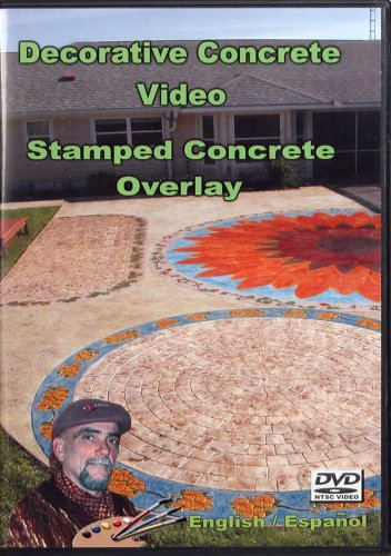 Stamped Concrete Overlay Video - JJ Video and Book Productions - B000UYAC2C - ISBN:B000UYAC2C
