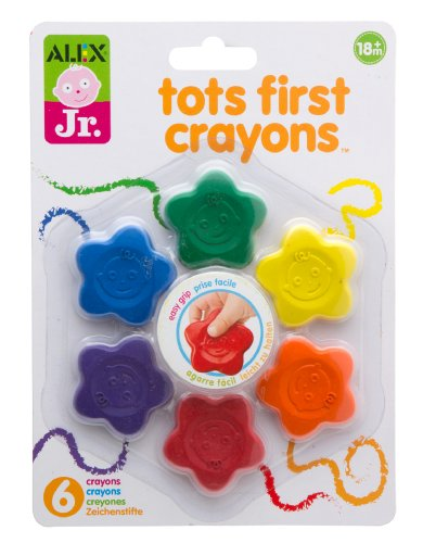 ALEX Jr. Tots First Crayons