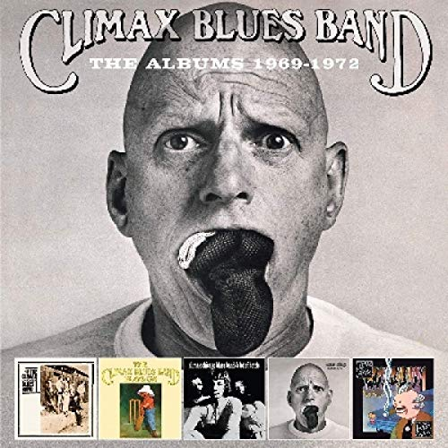 CD : CLIMAX BLUES BAND - Albums 1969-1972 (5 Discos)