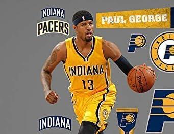 NBA Paul George Fathead and Tradeable Set by Fathead [並行輸入品]