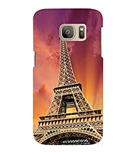 Paris Wonder 3D Hard Polycarbonate Designer Back Case Cover for Samsung Galaxy S7 :: Samsung Galaxy S7 Duos G930F
