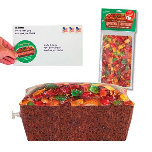 Inflatable Fruitcake W/mailing Envelope Holiday