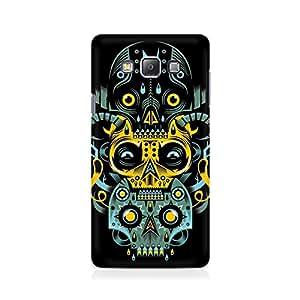 Ebby Three Skulls Premium Printed Case For Samsung Grand Prime 5308