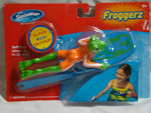 Swimways Froggerz Orange Slingshot Pool Toy - 1