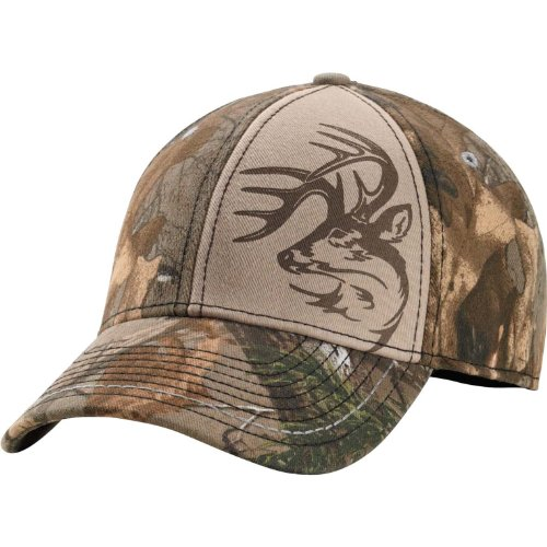 Cheap Legendary Whitetails Men's Realtree Camo One Shot Stretch Fit Cap Camo One Size