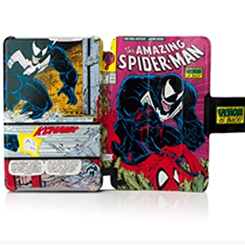 Amazon.com: Folio Case For Kindle Fire - The Amazing Spider-Man ...