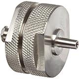 Whatman 1980-002 Stainless Steel Syringe Filter Type Membrane Filter Holder, 25mm Diameter