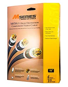 Monster M650 CV-4 M-Series 650 Component Video Cables (4 feet)