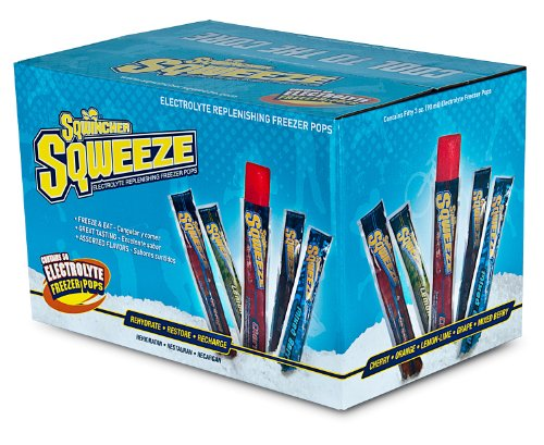 Sqwincher Sqweeze Electrolyte Freezer Pop (Box of 50) 159200221