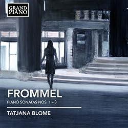 Frommel: Piano Sonatas 1-3 (Grand Piano : GP606)