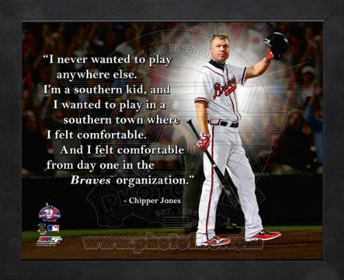 Chipper Jones Braves Poster Braves Chipper Jones Poster