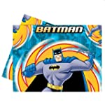 Batman Superhero Plastic Tablecover