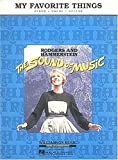My Favorite Things: From the Sound of Music (0793511496) by Rodgers, Richard