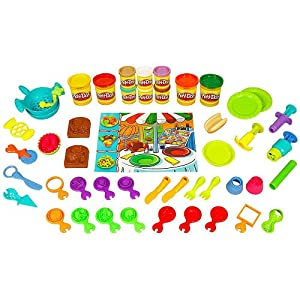 Play doh food themed canister toys games for Play doh cuisine