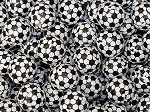 Chocolate Foil Balls - Soccer, 5 lb bag
