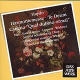 """echange, troc  - Harmoniemesse ; Te Deum ; Cantate """"Qual Dubbio Ormai"""""""
