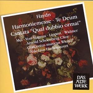 Haydn: Harmoniemesse / Te Deum