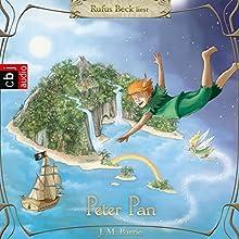 Peter Pan Hörbuch von J. M. Barrie Gesprochen von: Rufus Beck
