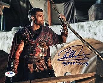 Liam Mcintyre Spartacus Signed Authentic 8X10 Photo Autographed PSA